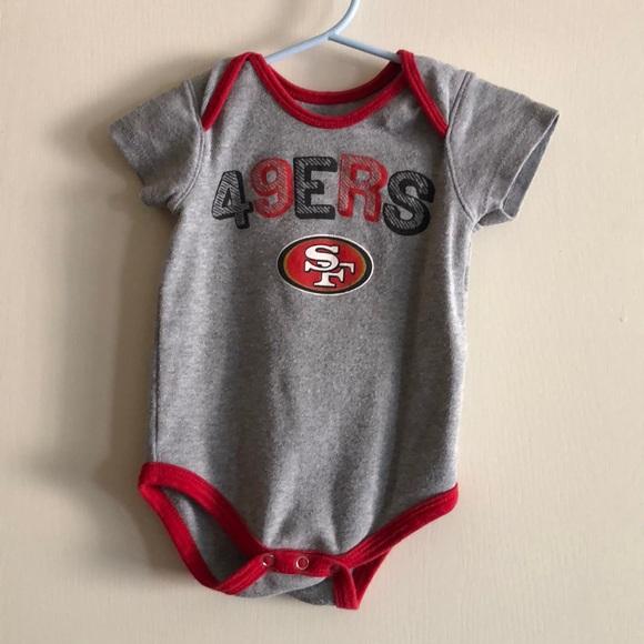 32300b1f 49ers baby onesie